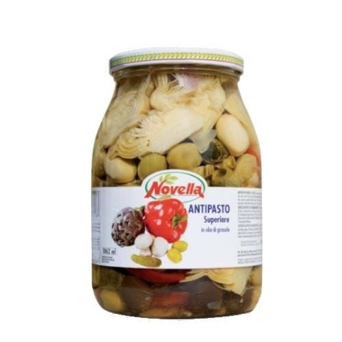 Novella Antipasto Superiore - mix warzyw 950g