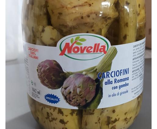 Novella Carciogamb Romana - 1062ml karczochy rzymski