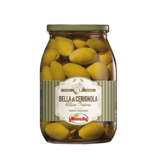 Novella Olive Bella Di Cerignola - 1062 ml oliwki zielone