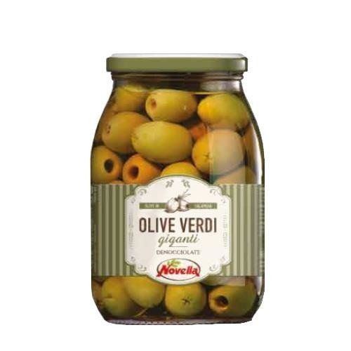 Novella Olive Verdi Deno - 1062 ml oliwki zielone drylowane