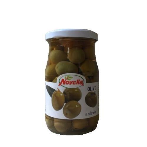 Novella Olive Verdi Medie 314 ml oliwki zielone w solance