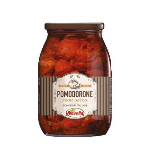 Novella Pomodorone Semi Secco - 1062ml pomidory lekko suszone