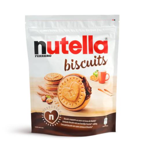 Nutella Biscuits 304g - ciastka z kremem Nutella