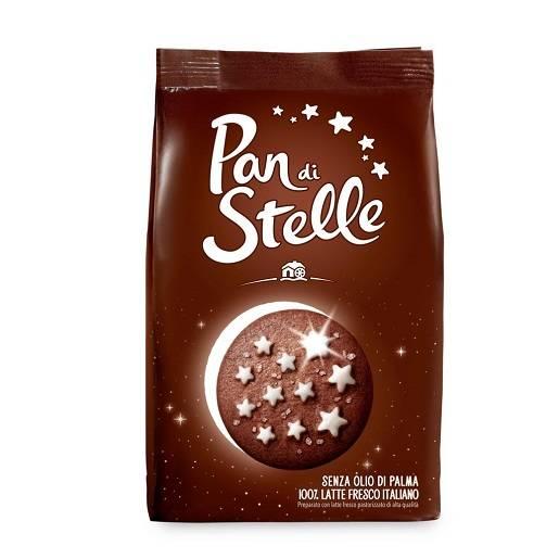 Pan di Stelle Biscotto - włoskie ciastka kakaowe 350 g
