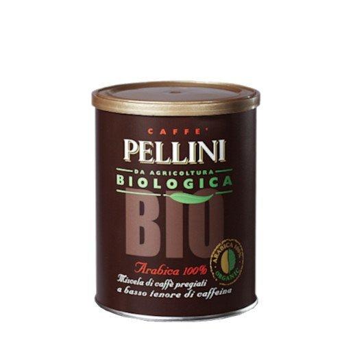 Pellini Biologica BIO 250g kawa mielona puszka x 12