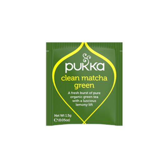 Pukka Clean Matcha Green BIO - 20 saszetek