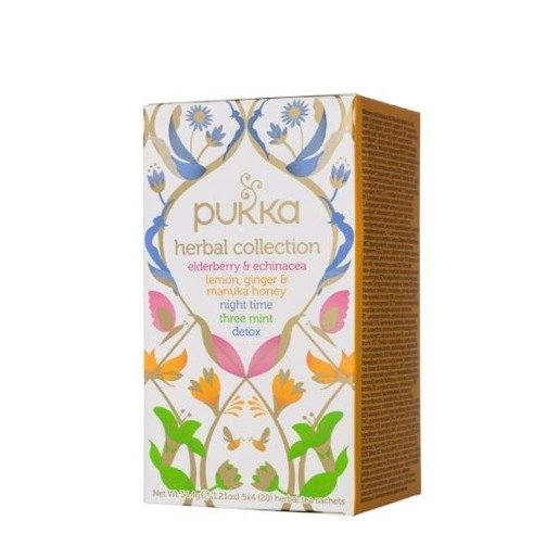 Pukka Herbal Collection  - 20 saszetek