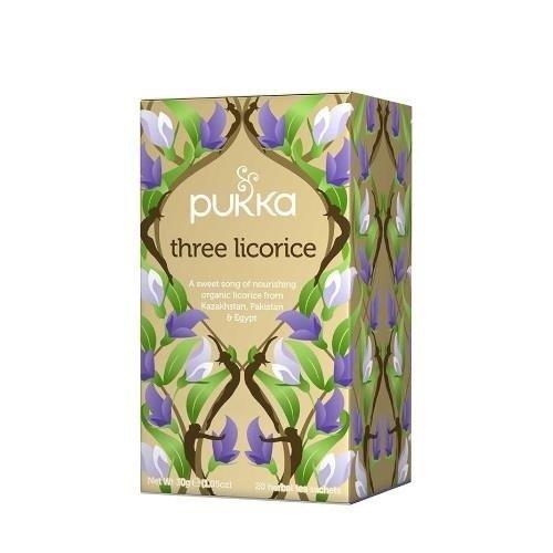 Pukka Three Licorice - 20 saszetek