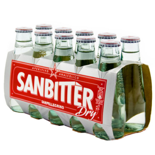 S. Pellegrino Sanbitter Dry 10x100ml