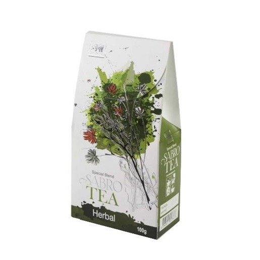 Sabro Tea Herbal - zielona herbata z ziołami 100 g