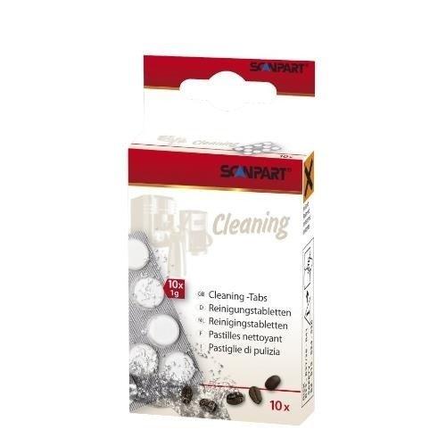 Scanpart Cleaning 10 szt. tabletki do czyszczenia ekspresu