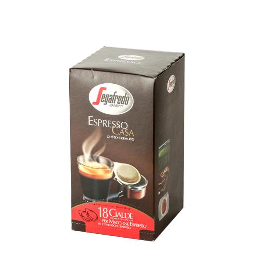 Segafredo Espresso Cremoso saszetki ESE 18szt.