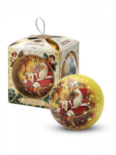 Sir Barton Tea - Christmas Collection - złota bombka z herbatą