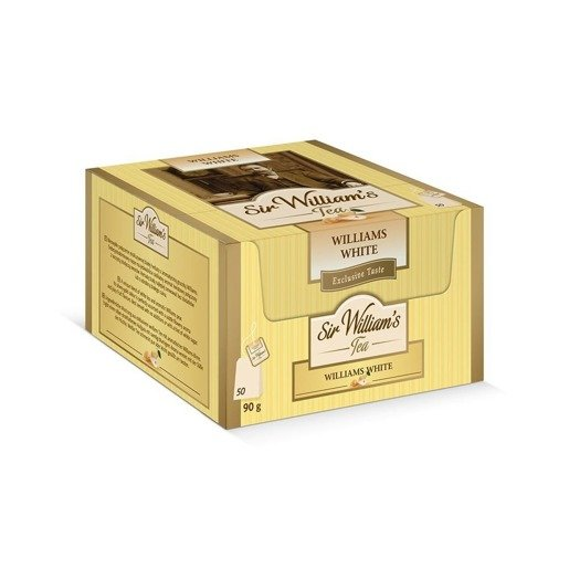 Sir William's Tea Williams White 50x1,8g