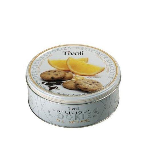 Tivoli - duńskie ciastka z kawałkami czekolady i pomarańczy 150g