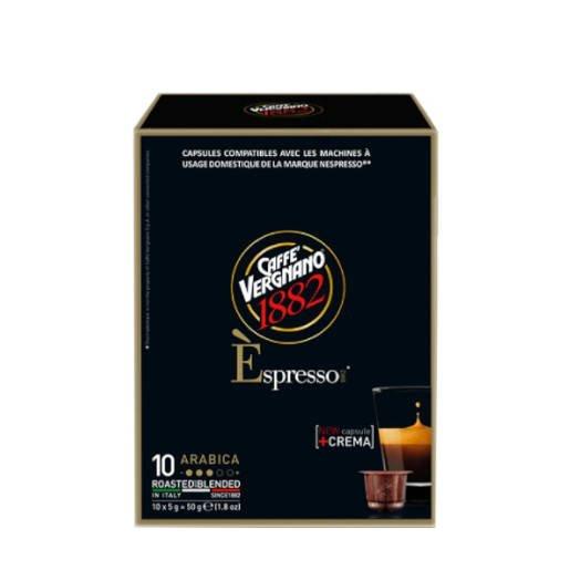 Vergnano 100% Arabika Nespresso 10 kapsułek