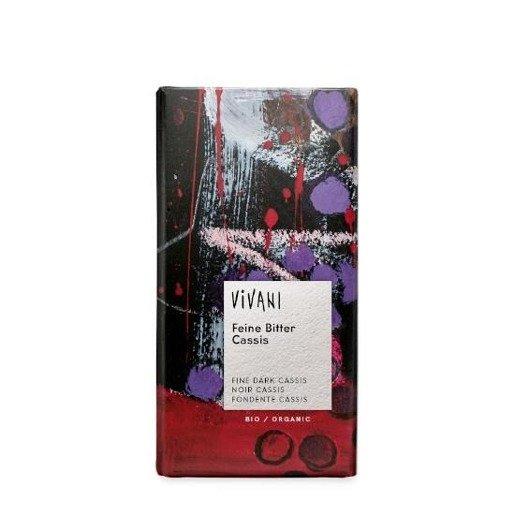 Vivani czekolada o smaku czarnej porzeczki 100g