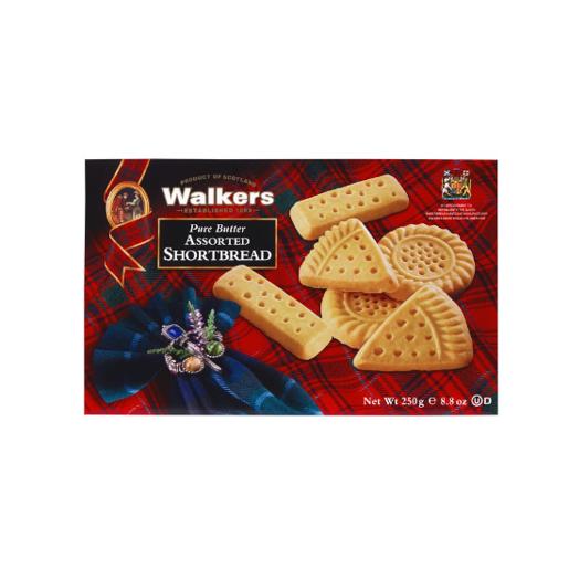 Walkers Assorted Shortbread kruche ciasteczka 250 g