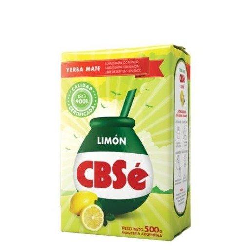 Yerba Mate CBSe Limon 500g