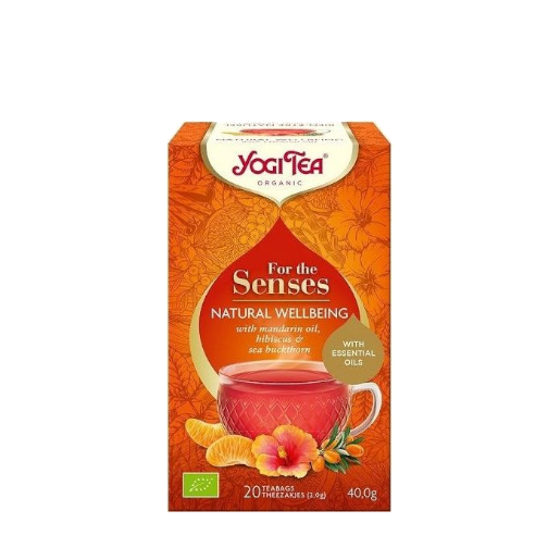 Yogi Tea Dla zmysłów Szczęście z natury 20 saszetek