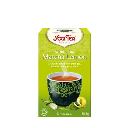 Yogi Tea Green Tea Matcha Lemon 17 saszetek