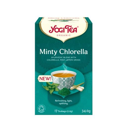 Yogi Tea Minty Chlorella 17 saszetek