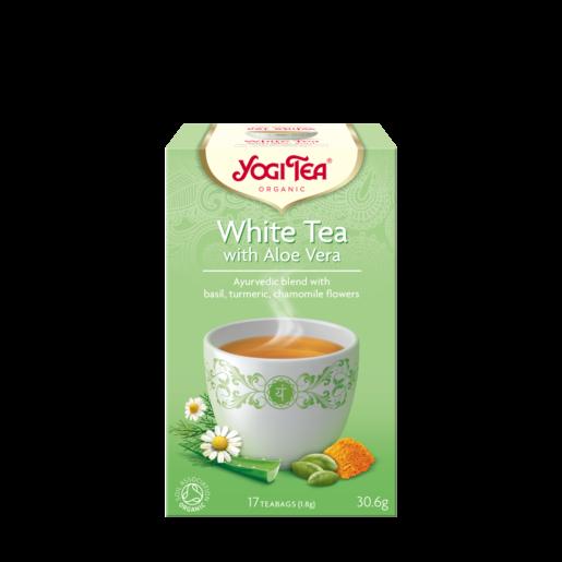 Yogi Tea White Tea Aloe Vera 17 saszetek