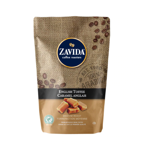 Zavida English Toffee 907g kawa ziarnista