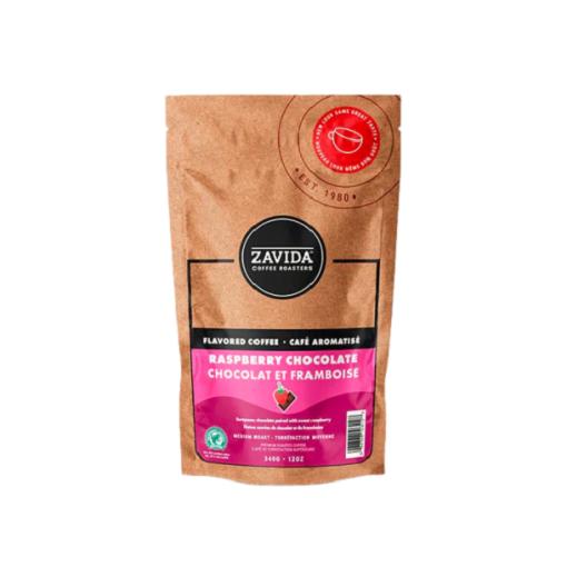 Zavida Raspberry Chocolate 340 g - kawa ziarnista