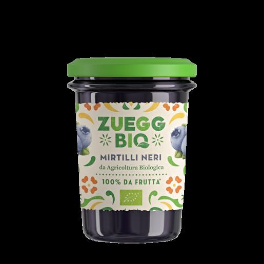 Zuegg włoski dżem z czarnych jagód BIO 250g