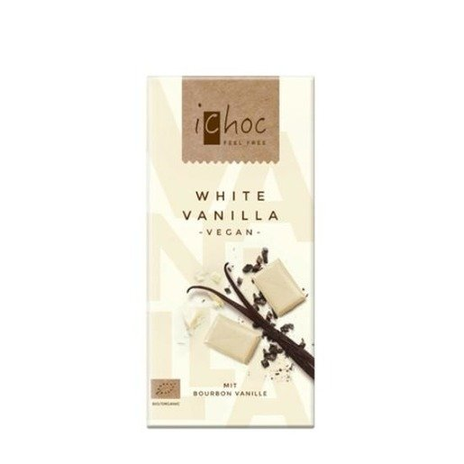 iChoc - biała czekolada z wanilią 80g