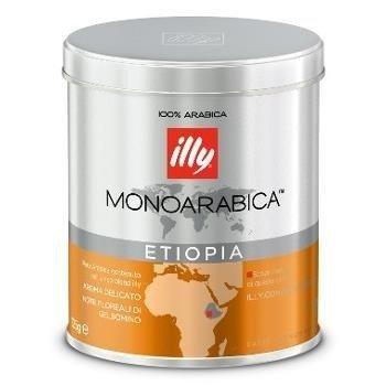 illy monoarabica Etiopia 125g kawa mielona x 6